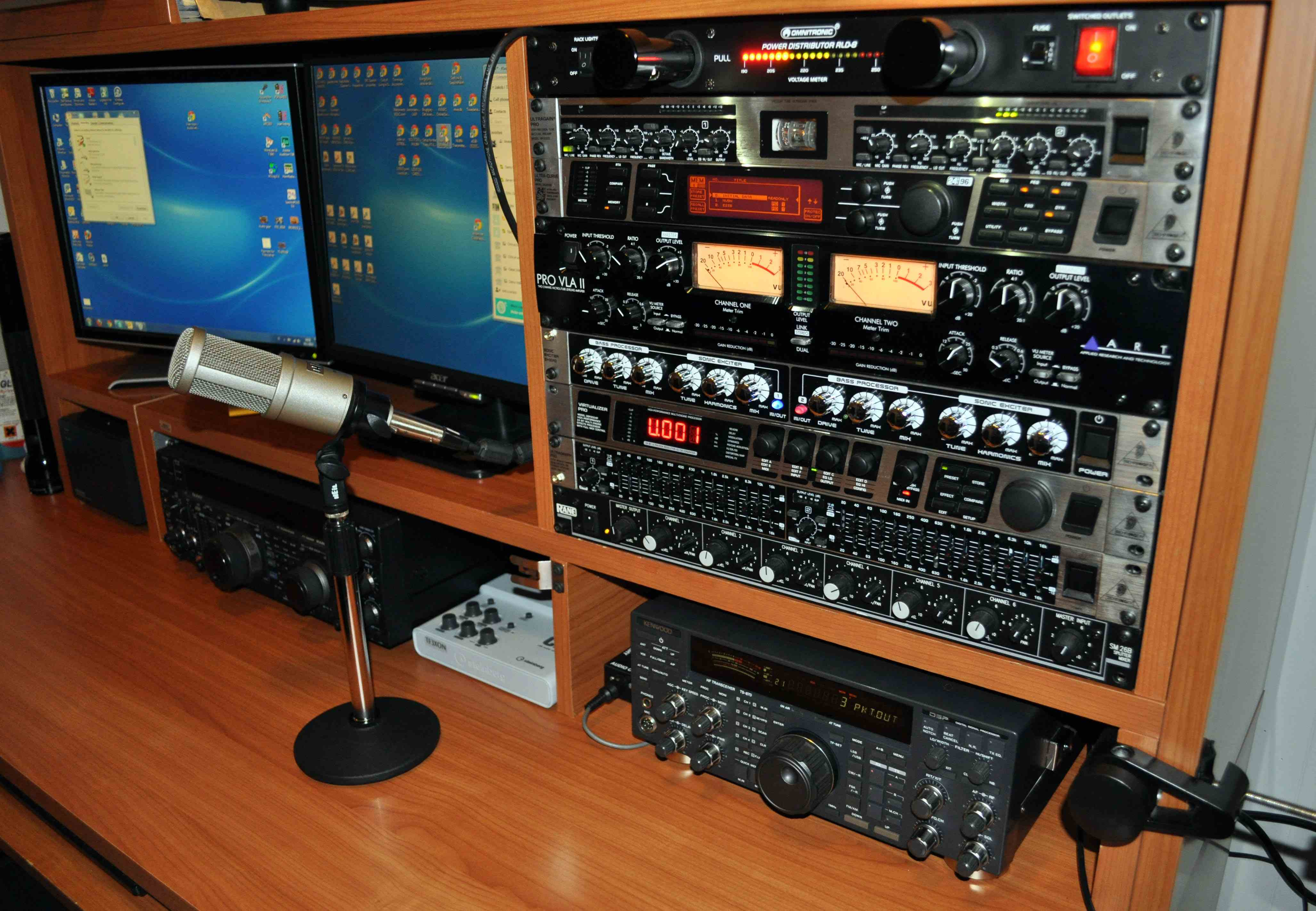 The Voodoo Audio Rack of TF3XON!
